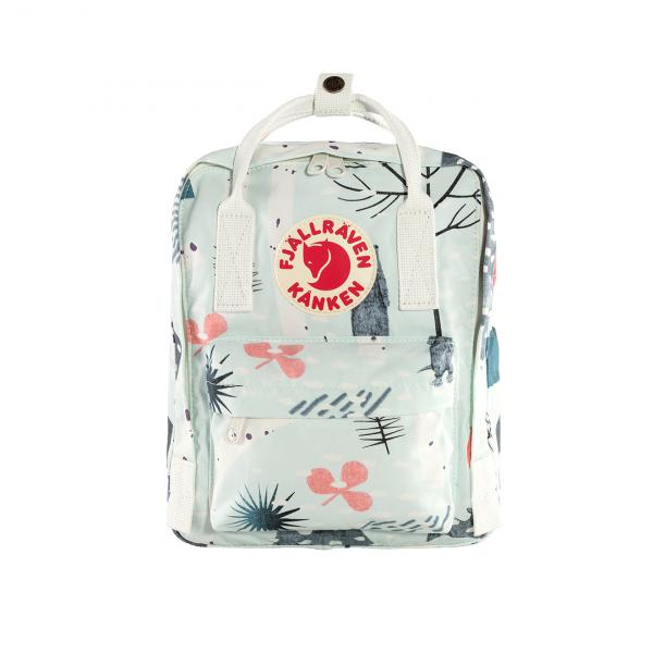 Fjallraven Kanken Art Mini Backpack Birch Forest