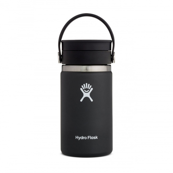 Hydro Flask 12oz Wide Mouth Flex Sip Lid Black