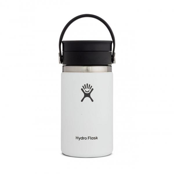Hydro Flask 12oz Wide Mouth Flex Sip Lid White