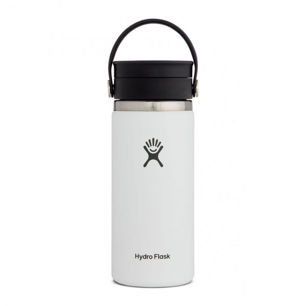 Hydro Flask 16oz Wide Mouth Flex Sip Lid White