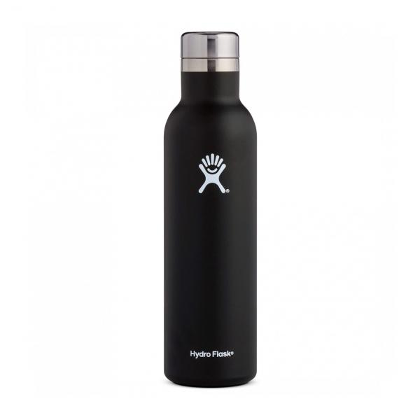 Hydro Flask 25oz Wine Bottle Black