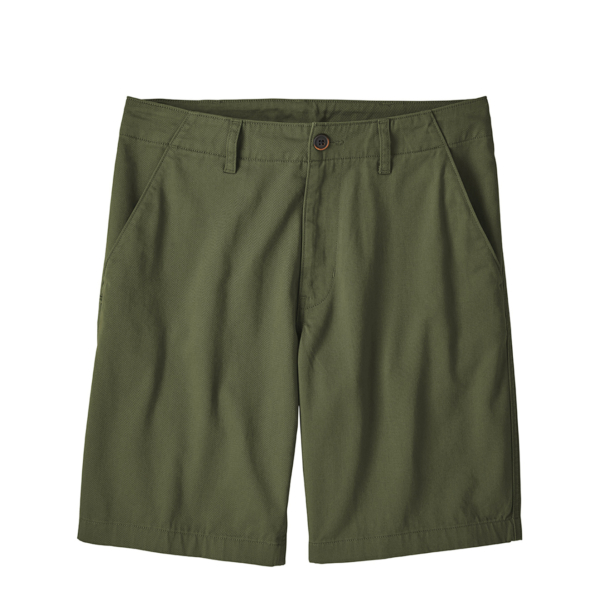 """Patagonia Four Canyon Twill Shorts 10"""" Industrial Green"""
