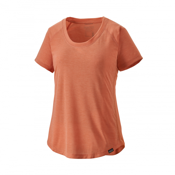 Patagonia Womens Capilene Cool Trail T-Shirt Mellow Melon