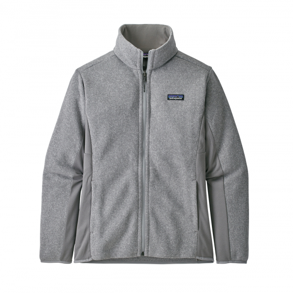 Patagonia Womens Lightweight Better Sweater Jacket Feather Grey