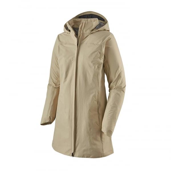 Patagonia Womens Torrentshell 3L City Coat Pumice