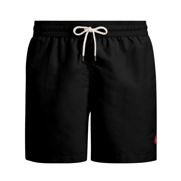 "Polo Ralph Lauren 6"" Traveller Swim Shorts Black"