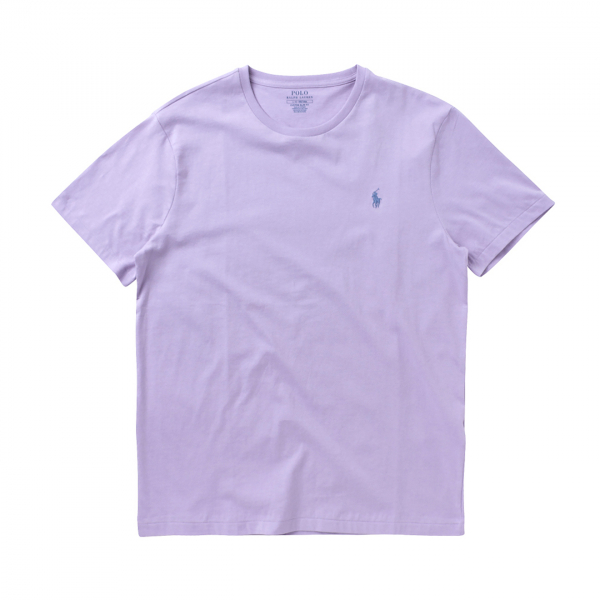 Polo Ralph Lauren Custom Slim Fit Crewneck T-Shirt Lavender