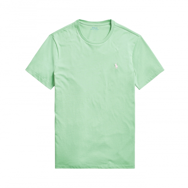 Polo Ralph Lauren Custom Slim Fit Crewneck T-Shirt Pistachio