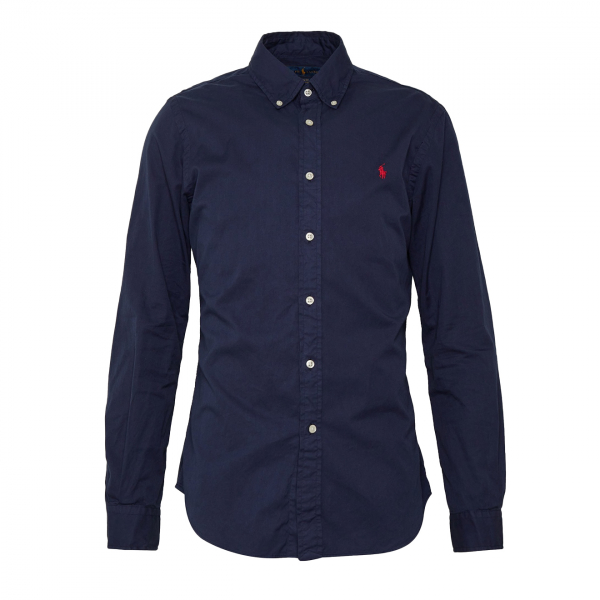 Polo Ralph Lauren Slim Fit Chino Shirt Navy