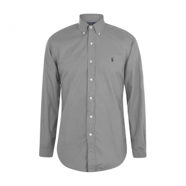 Polo Ralph Lauren Custom Fit Oxford Shirt Perfect Grey