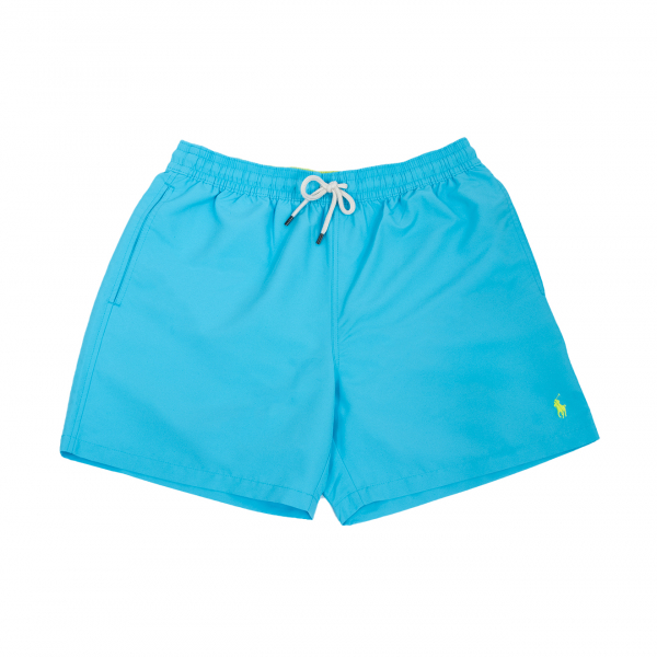 "Ralph Lauren Traveler 5.5"" Swim Short Turquoise"