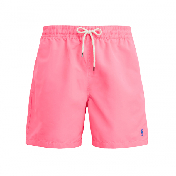 "Ralph Lauren Traveler Swim Short 5.5"" Blaze Knockout Pink"