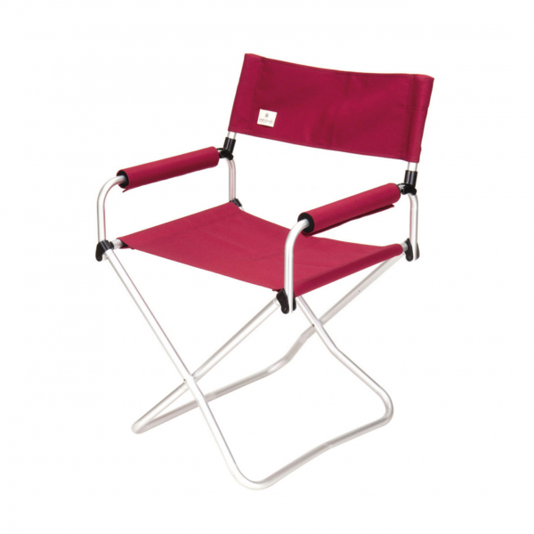 Snow Peak Folding Chair Wide Red
