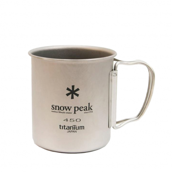 Snow Peak Single Wall 450 Mug Titanium