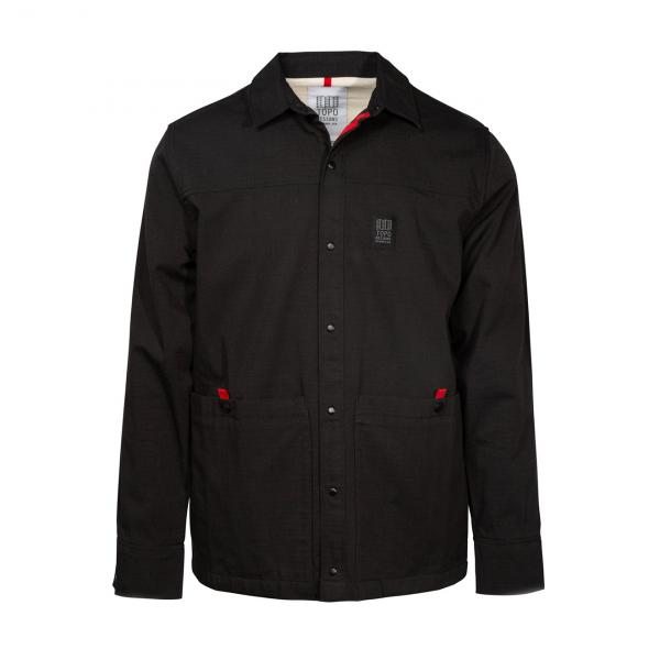 Topo Designs Field Jacket Black