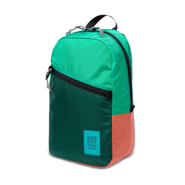 Topo Designs Light Pack Backpack Mint /Forest / Coral
