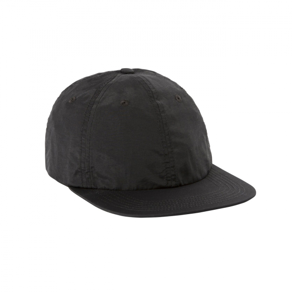 Topo Designs Nylon Baseball Cap Black