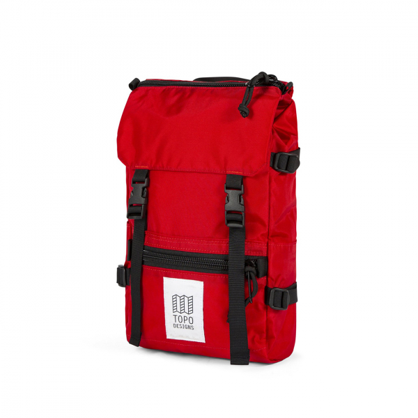 Topo Designs Rover Pack Mini 10L Backpack Red/Red