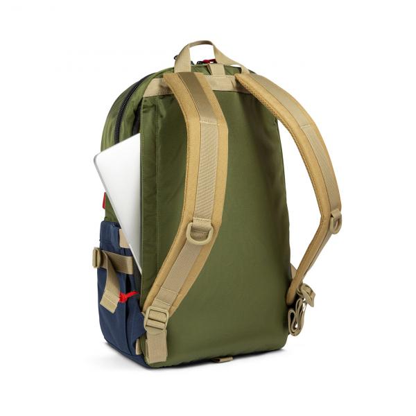 Topo Designs Standard Pack 23L Backpack Olive/Navy