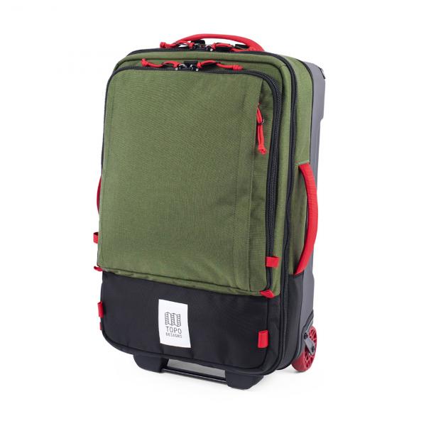 Topo Designs Travel Bag Roller 44L Backpack Olive/Olive