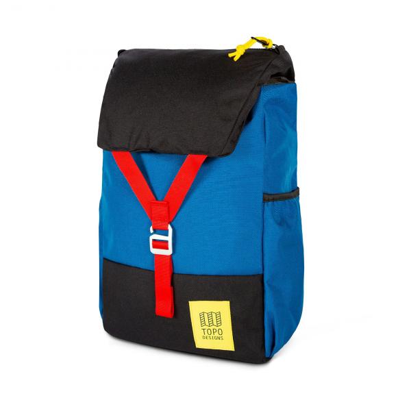 Topo Designs Y-Pack Backpack Blue / Black