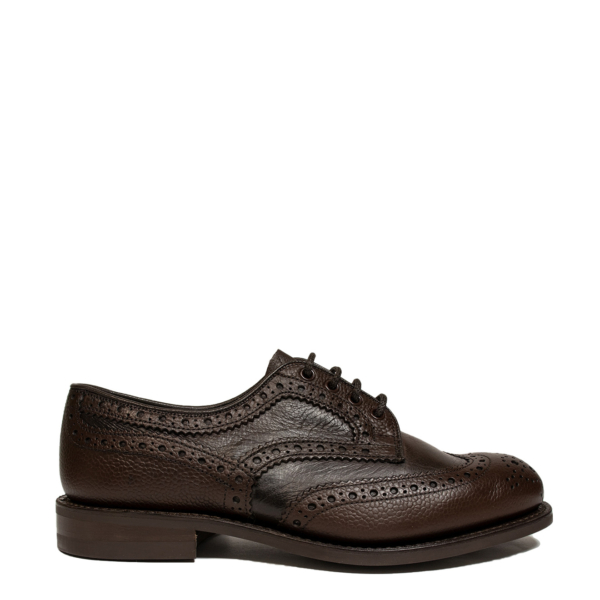 Trickers Bowood Two Tone Derby Brogues Brown Grain / Brown Olivia