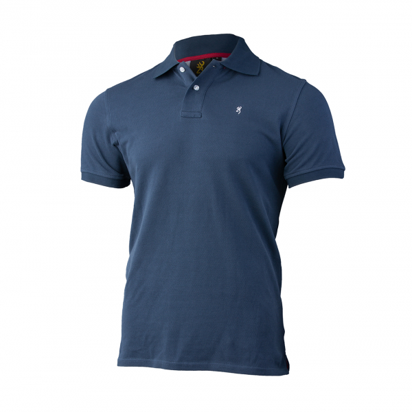 Browning Ultra 78 Polo Shirt Blue