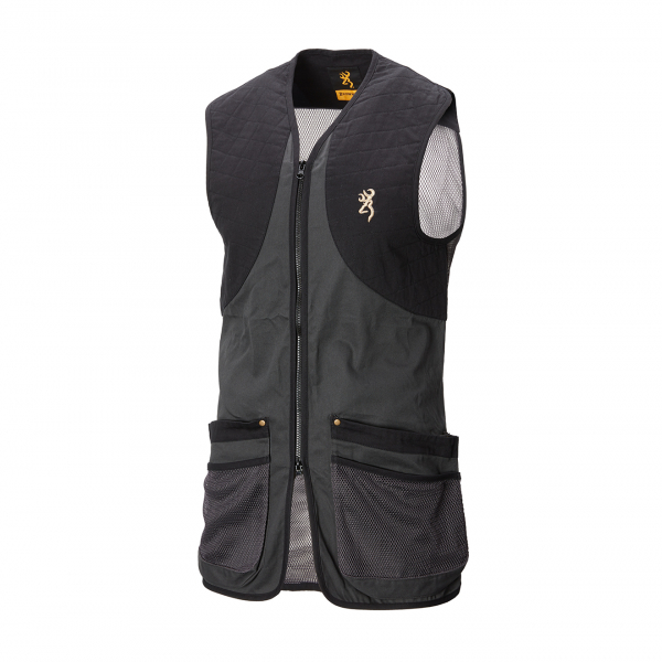Browning Classic Shooting Vest Anthracite