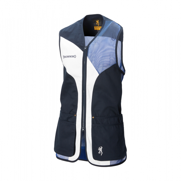 Browning Sporter Shooting Vest Blue