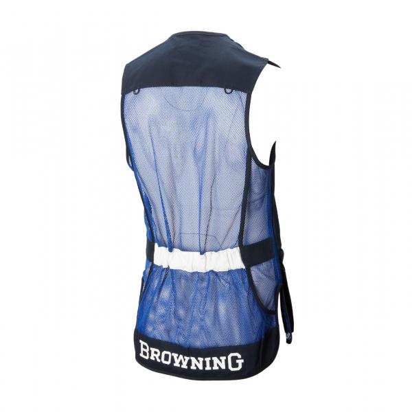 Browning Sporter Shooting Vest Blue