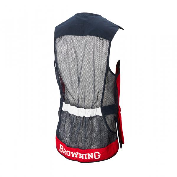 Browning Sporter Shooting Vest Red