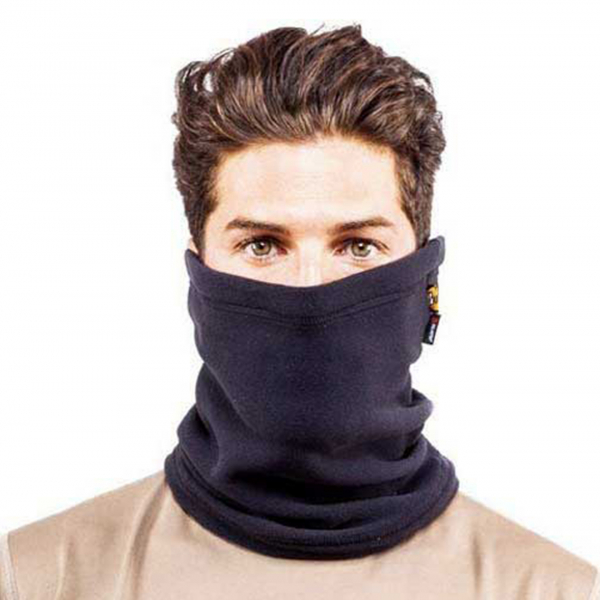 Buff Face Covering Polar Black