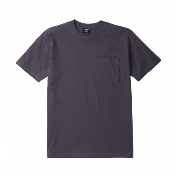 Filson Outfitter Solid One Pocket T-Shirt Ink Blue