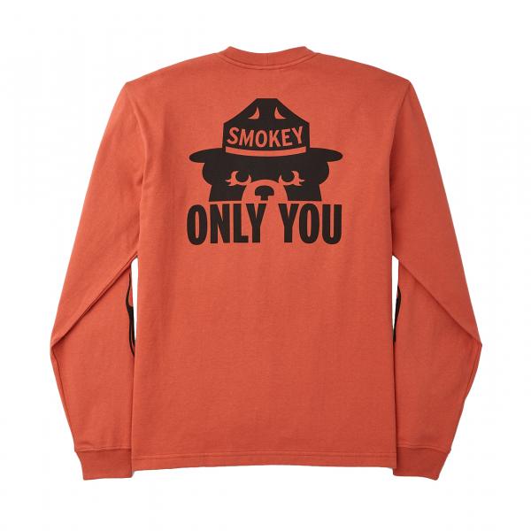 Filson Smokey Bear L/S T-Shirt Flame