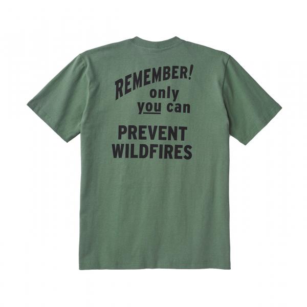 Filson Smokey Bear S/S One Pocket T-Shirt Service Green