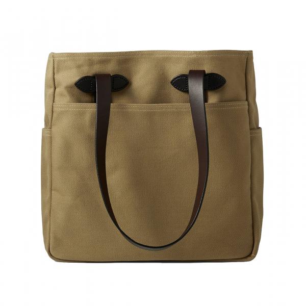 Filson Tote Bag Without Zipper Tan