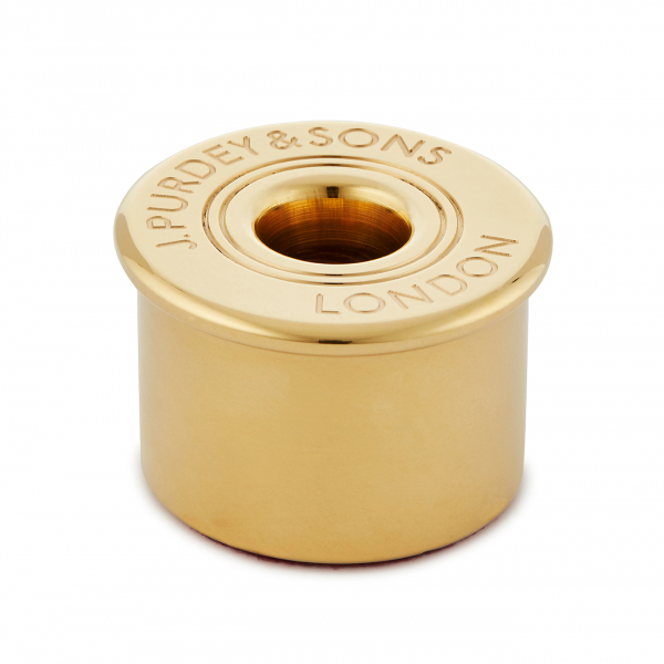 James Purdey Solid Brass Cartridge Cap Per Holder Paper Weight