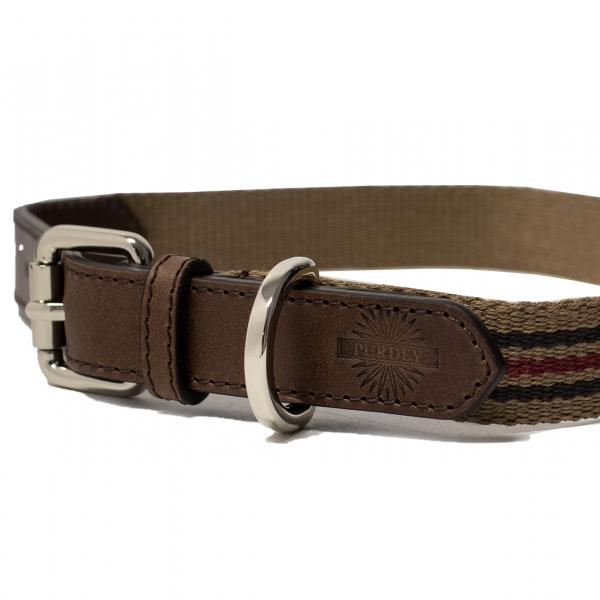 James Purdey Webbing Dog Collar M