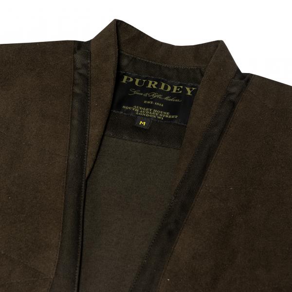 James Purdey Winter Sporting Vest Dark Green