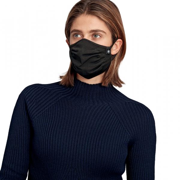 Mammut 3D Knitted Community Face Mask Black