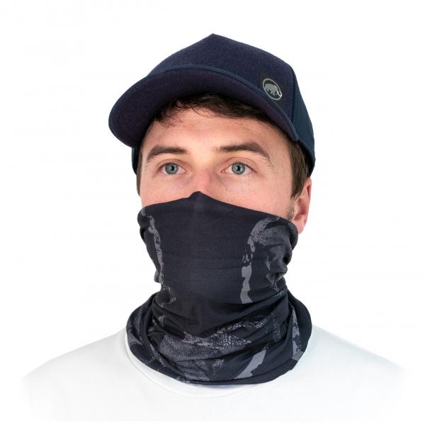 Mammut Face Covering / Neck Gaiter Black Phantom