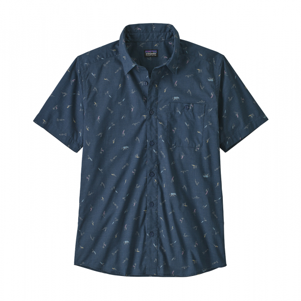 Patagonia Go To Shirt Surfers Stone Blue