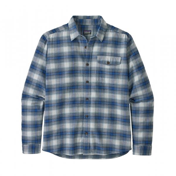 Patagonia Lightweight Fjord Flannel Shirt Grange Superior Blue
