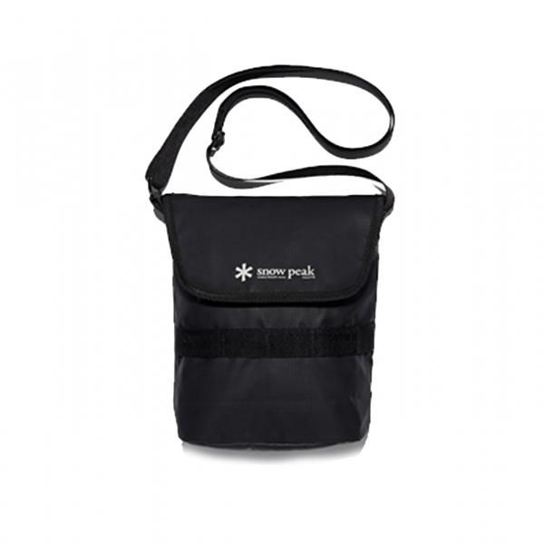 Snow Peak Mini Shoulder Bag Black