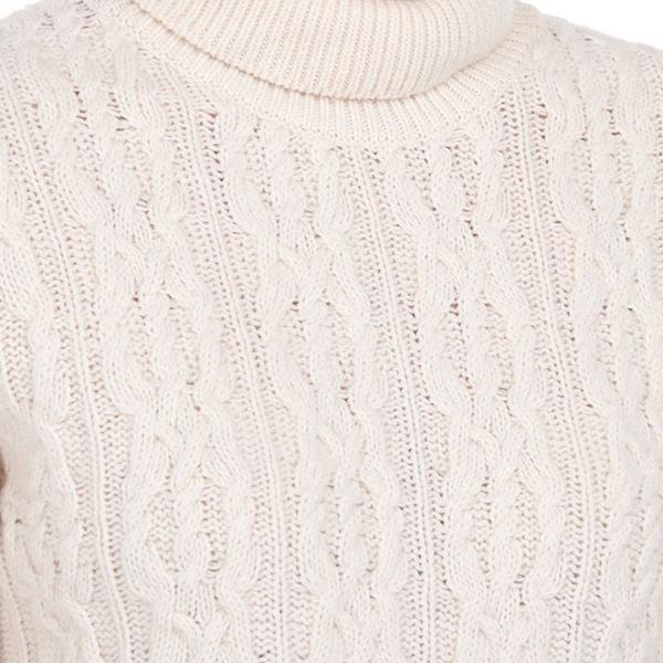Barbour Burne Womens Knit Cream