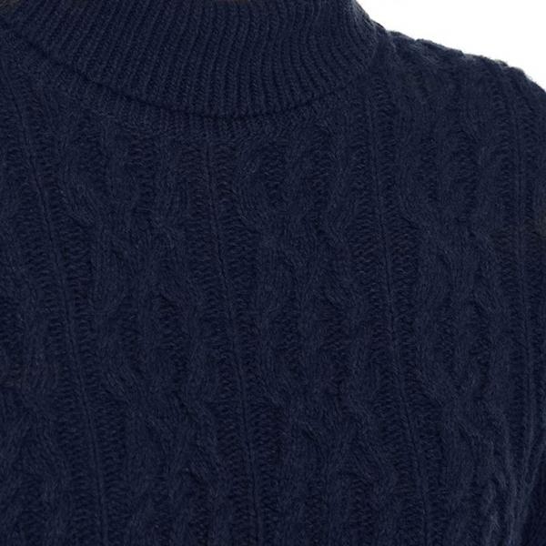 Barbour Burne Womens Knit Navy
