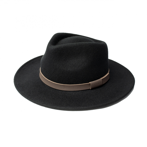 Barbour Crush Bushman Hat Black