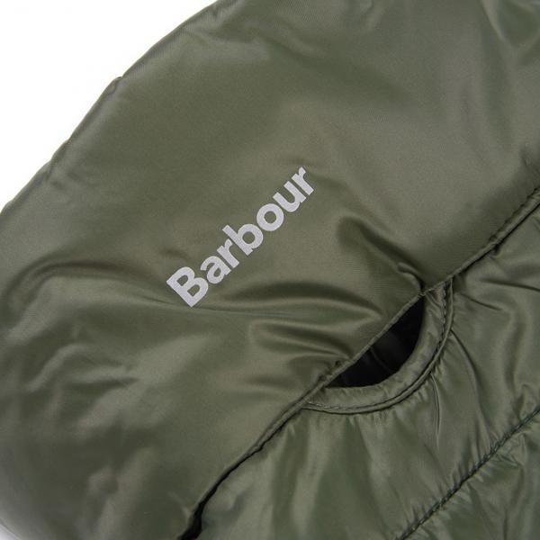 Barbour Dog Baffle Quilt Coat Olive