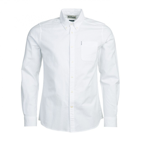 Barbour Oxford L/S Tailored Shirt White