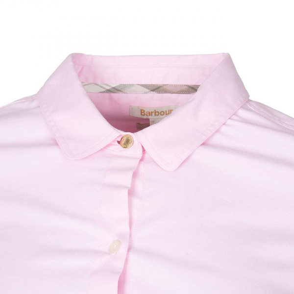Barbour Pearson Womens L/S Shirt Pale Pink